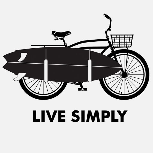 Patagonia live simply logo for Simply simple